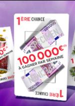 Promos et remises  : La main gagnante, 100 000€ à gagner chaque semaine