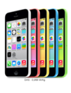 Promos et remises Orange : Iphone 5C à 1€ au lieu de 49,90€