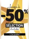 Promos et remises Patrice Bréal : Jusqu'à -50% sur une sélection d'articles