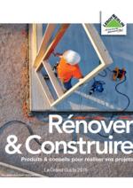 Guides et conseils Leroy Merlin : Feuilletez le guide Rénover & construire