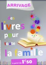 Catalogues et collections NOZ : Des livres pour toute la famille à partir de 1,50€