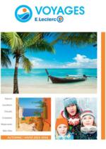 Catalogues et collections E.Leclerc voyages : Feuilletez la brochure automne hiver 2015 - 2016
