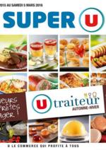 Menus Super U : La carte traiteur automne-hiver
