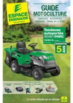 Catalogues et collections Espace emeraude : Guide Motoculture
