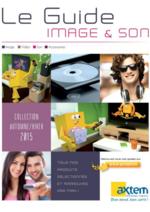 Catalogues et collections Axtem : Le guide Image et son Automne - Hiver 2015