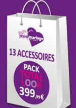 Bons Plans Point mariage : Profitez des packs accessoires
