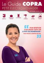 Catalogues et collections Copra : Le guide Copra petit électroménager