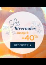 Promos et remises Hotel Formule 1 : Les hivernales jusqu'à -40%