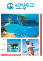 Catalogues et collections E.Leclerc voyages : Consultez la brochure Printemps - Été 2015-2016
