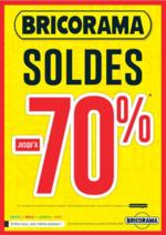 Prospectus Bricorama : Soldes jusqu'à -70%