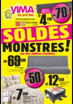 Prospectus VIMA : Soldes Monstres !