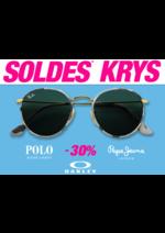 Promos et remises Krys : Venez profiter des soldes sur les plus grandes marques