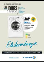 Prospectus E.Leclerc : Les jours à prix malins
