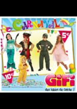 Prospectus Gifi : Carnaval