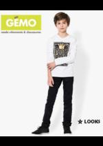 Catalogues et collections Gemo : Les looks enfant du moment