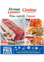 Prospectus Supermarchés Casino : Mon marché Casino