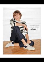 Catalogues et collections Minelli : La collection printemps été homme 2016