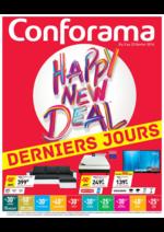 Prospectus Conforama : Happy New Deal : derniers jours