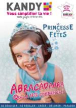 Prospectus KANDY : La princesse des fêtes