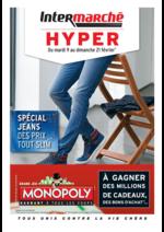 Prospectus Intermarché Hyper : Spécial Jeans : des prix tout slim