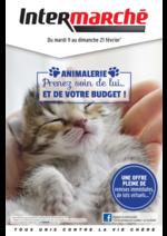 Prospectus Intermarché Contact : Animalerie : prenez soin de lui ... et de votre budget !