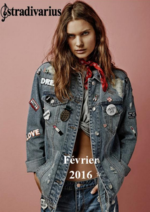 Catalogues et collections Stradivarius : Lookbook Février
