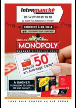 Prospectus Intermarché Express : Jusqu'à 50% en avantage carte