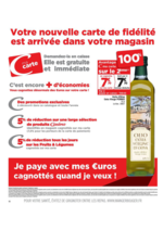 Prospectus Supermarchés Casino : Nouveaux avantages fidélité