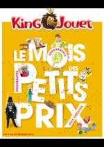 Prospectus King Jouet : Le mois des petits prix