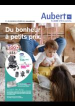 Prospectus Aubert : Du bonheur à petits prix