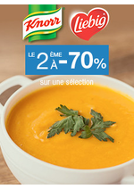 Bons Plans Monoprix : Knorr, le 2ème à -70%