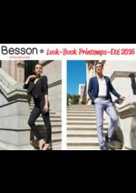 Catalogues et collections besson : Lookbook printemps été 2016