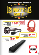 Prospectus DARTY : Les imbattables Darty