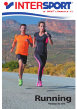 Catalogues et collections Intersport : Running printemps été 2016