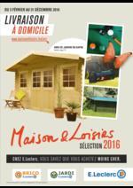 Prospectus Jardi E.Leclerc : Maison & Loisirs sélection 2016