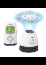 Bons Plans Aubert : Babyphone VTech Safe & Sound : jusqu'à 20€ remboursés