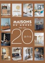 Catalogues et collections Maisons du Monde : Le catalogue Mobilier et décoration d'intérieur 2016