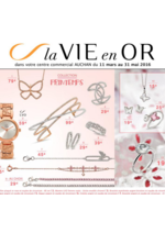 Prospectus Auchan : La vie en or : collection printemps