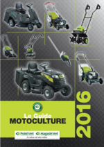 Catalogues et collections Point Vert Le Jardin : Le guide motoculture 2016