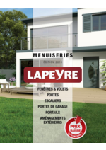 Catalogues et collections Lapeyre : Catalogue Menuiseries 2016