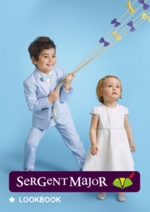 Catalogues et collections Sergent Major : Lookbook layette Soleil et fil d'or