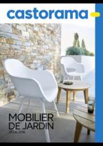 Catalogues et collections Castorama : Guide 2016 Mobilier de jardin