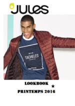 Catalogues et collections Jules : Lookbook Printemps 2016
