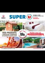 Prospectus Super U : Vos produits livraison comprise