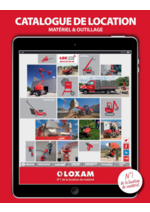 Catalogues et collections Loxam : Le catalogue de location 2016