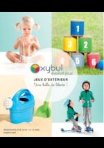 Catalogues et collections Oxybul Eveil & jeux : Le catalogue jeux d'extérieur printemps été 2016