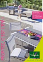 Catalogues et collections Villaverde : Le catalogue mobilier de jardin 2016