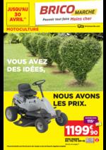Promos et remises  : Motoculture : vous avez des idées, nous avons les prix
