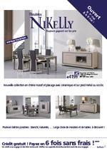 Prospectus Meubles Nikelly : Découvrez les nouvelles collections !
