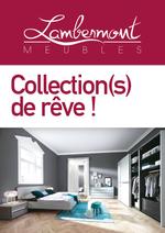 Prospectus Meubles Lambermont  : Collection(s) de rêve !